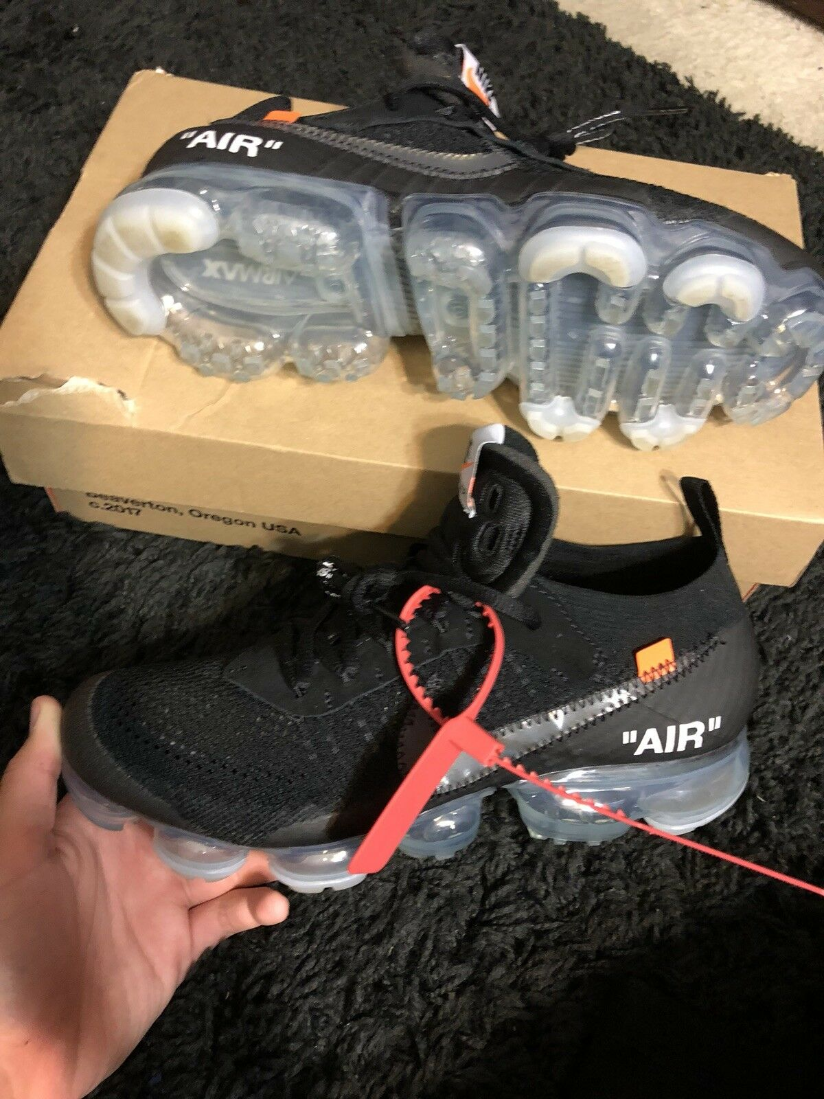 Off White Vapormax Size 8