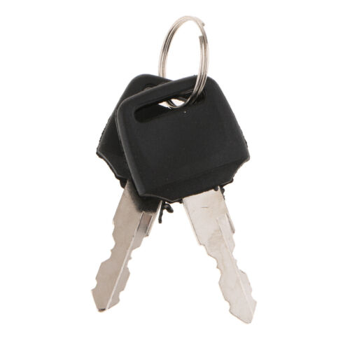 Car Motorcycle 6-Wire in 9 pin plug Ignition Switch 3 Position 2 Keys