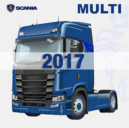10.2017 Scania Multi PARTS AND SERVICE PROGRAM DOWNLOAD FROM LINK 11GB