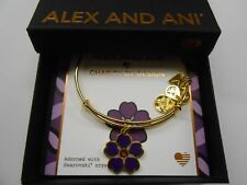 Alex and Ani Womens Charity by Design Forget Me Not Bangle