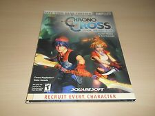 Chrono Cross Official Strategy Guide Book Brady Games Nice