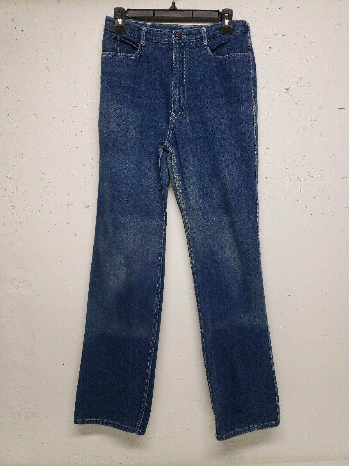 Vintage Nest N'est ce Pas 1970s Denim Jeans High … - image 9