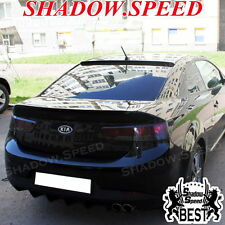 Painted B Type Rear Window Roof Spoiler Wing For KIA Forte Koup Coupe 2009~13 ☢
