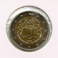 Deutschland 2 Euro Münze 2007 - 50 Jahre Römische Verträge - D - München