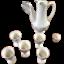 Ancien-Service-a-the-poupee-porcelaine-ceramique-vintage-dinette-1970 miniature 1