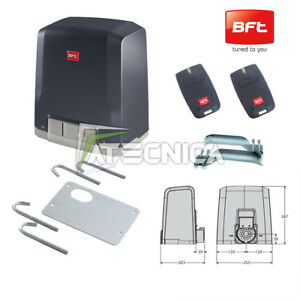 Details about Engine Automation Sliding Gate Bft Deimos BT to 400 kg 24v +2  Mitto B