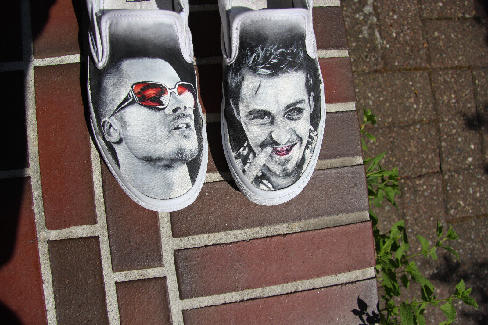 Fight Club Vans Tyler Durden Sneaker Größe US 10 Fight Club Sneaker Rare