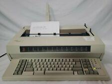 Ibm Wheelwriter 1500 By Lexmark Electronic Typewriter Tested Amp Working