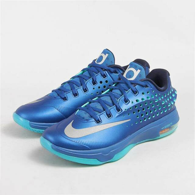 cheap for discount a3f94 047f4 NIKE KD VII ELITE BASKETBALL SHOES GYM BLUE 724349-404 MENS SIZE 9