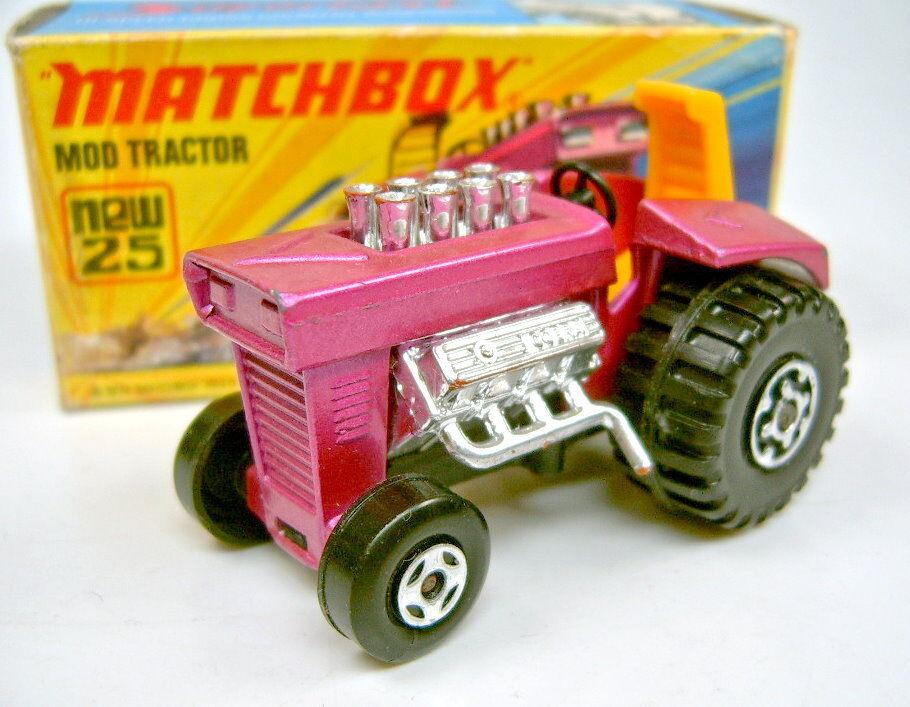 Ahorre hasta un 70% de descuento. Matchbox súperfast nº 25b mod tractor finas 4 spoke frontwheels frontwheels frontwheels en Box  precios bajos todos los dias