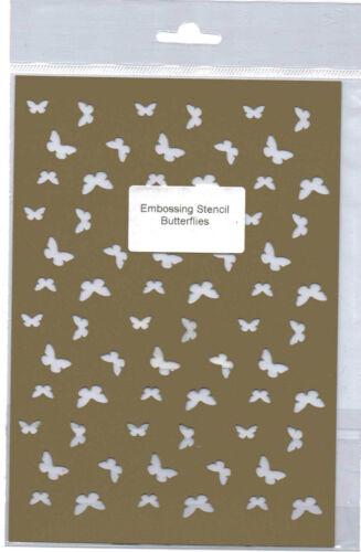 Plastic//PVC//Embossing//Stencil//Butterfly//Butterflies//Background//484.247.006