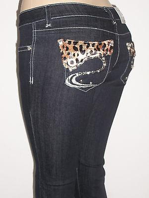 NWT Sweet Look, Leopard Design, Rhinestone Embellished, Slim Skinny Jeans*