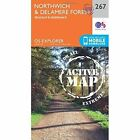 Northwich and Delamere Forest by Ordnance Survey (Sheet map, folded, 2015)