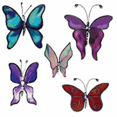 Lead Free 5 Butterfly Bodies Castings - Stained Glass Supplies
