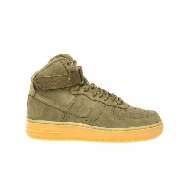 quality design fabb2 f0610 Nike Air Force 1 High WB Medium Olive Medium Olive (GS) (922066