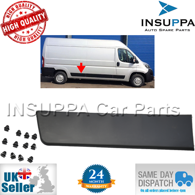 REAR RIGHT MOULDING TRIM PANEL DRIVER SIDE FOR FIAT DUCATO LWB 735422845