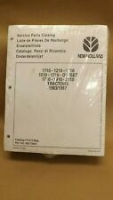 New Holland 1110121013101510171019102110 Tractor Service Parts Catalog