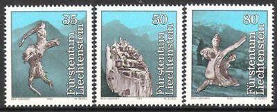 843/45 ** Alte Sagen 1984 Postfrisch SchnäPpchenverkauf Zum Jahresende PüNktlich Liechtenstein Nr