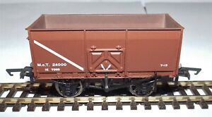 BACHMANN-37-426C-16T-SLOPE-SIDE-MINERAL-WAGON-M-O-T-BROWN