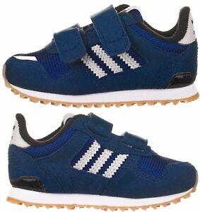 28784fdd4cc Adidas Originals Infants Little Boys Kids Zx 700 Navy Blue Trainers ...