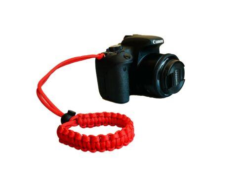 Cordy Crossover Paracord Camera Wrist Strap Cinta Cámara Réflex