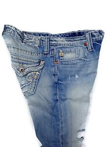 Big Star Basse Crop Taille Jeans Fit Capri 4 Casey Made Femmes Taille Usa Bleu 27 qrdRxqa