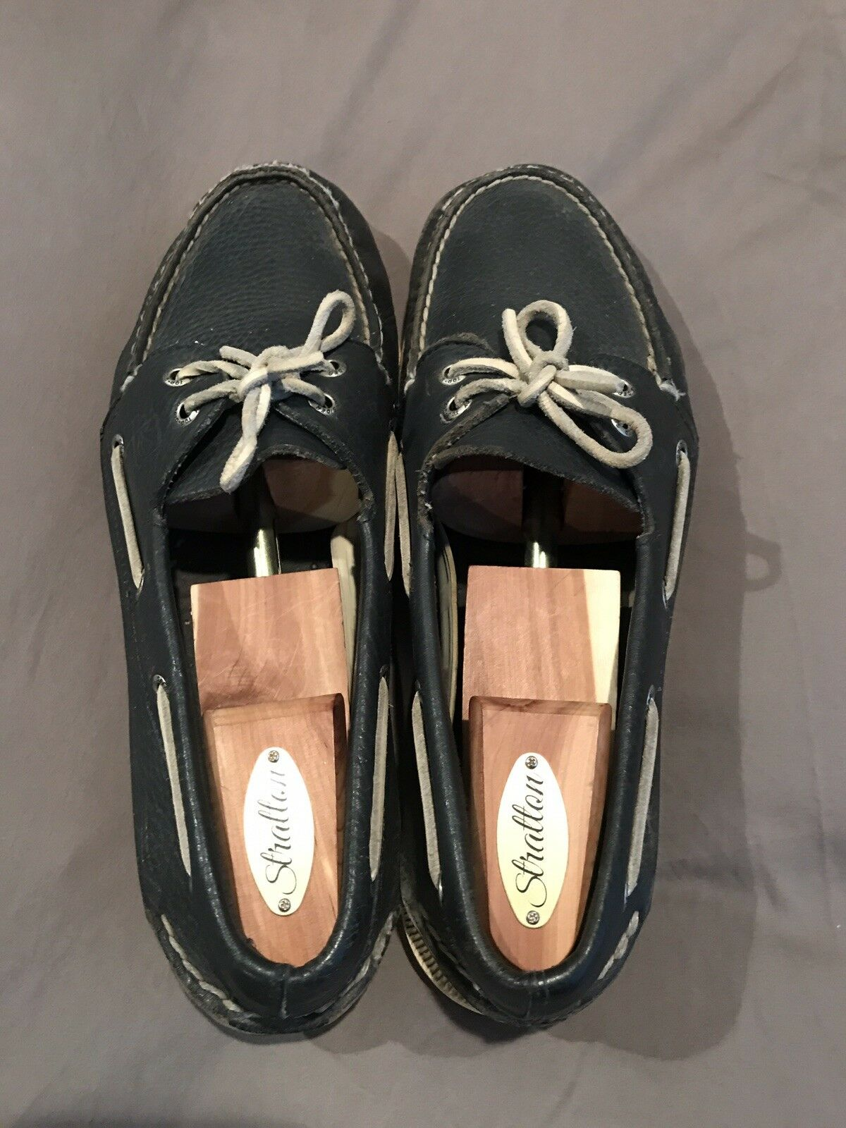 Sperry Top Sider Boat shoes - Navy bluee 10M- Vintage