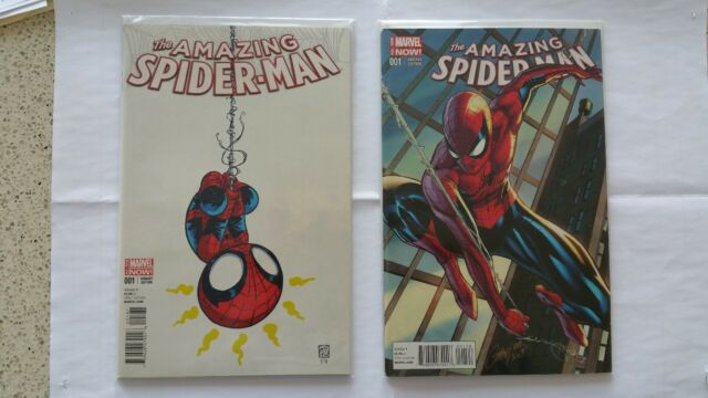 Amazing Spiderman #1, Scottie Young & J. Scott Campbell Variant covers, Marvel