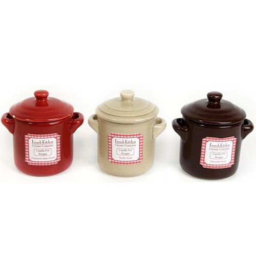 8CM COOKING POT CANDLE FRAGRANCE SCENTED RELAX GIFT WAX LID GLASS KITCHEN HOME