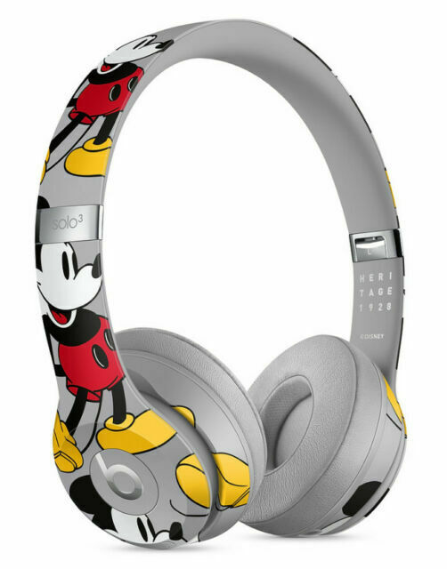 Beats By Dr Dre Solo3 Wireless Headphones Mickey S 90th Anniversary Edition For Sale Online Ebay