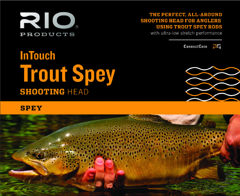 RIO InTouch Trout Spey Shooting Head - 265gr - New