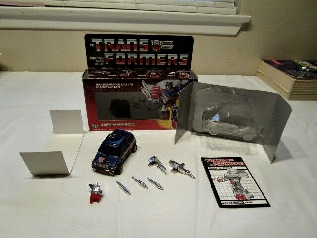 Transformers Generation One Carbot Skids 100 % Complete Mib Box