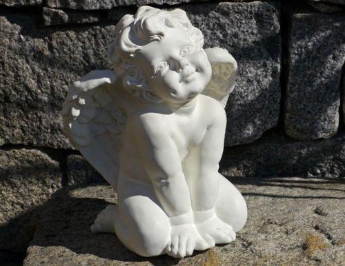 Poly Ángel pavo decoración interior decoración jardín estatua de alas vivir
