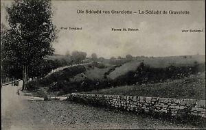 GRAVELOTTE-1914-18-Lothringen-Strassen-Partie-in-der-Schlucht-Ferme-St-Hubert