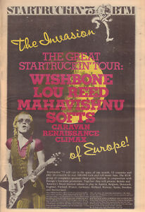 MAGAZINE-STARTRUCKIN-039-75-BTM-TOUR-WISHBONE-ASHLOU-REED-CARAVAN-SOFT-MACHINE
