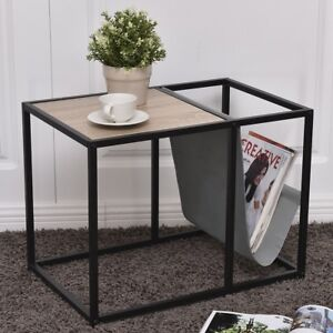 Image Is Loading Accent Metal End Side Table Magazine Book Living