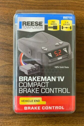 NEW Reese Towpower 8507111 Brakeman IV Compact Brake Control Free Shipping