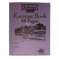 Exercise Books - Pack of 8 - Oxford Scholar – 88 Pages Ruled - Size 200 x 155mm