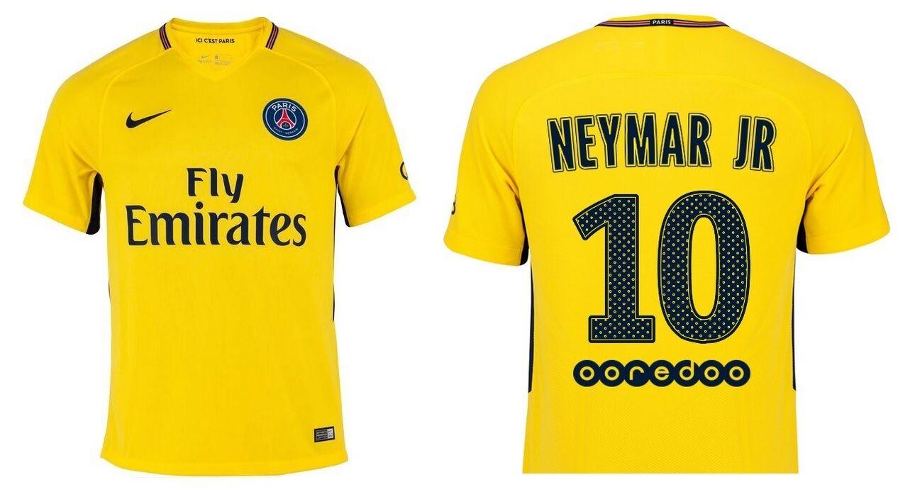 Maillot PARIS NIKE PARIS Maillot Saint-Germain 2017-2018 Away-NEYMAR Jr [XL] PSG-B-Ware df84a3
