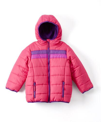 The Earth Gear Girls Water Resistant Puffer Jacket w// Hood