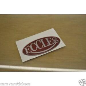STERLING Eccles STYLE RESIN DOMED Caravan Sticker Decal - Graphics for caravanscaravan stickers ebay