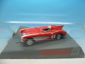 Ninco 50584 Record de vitesse Corvette, neuf, menthe