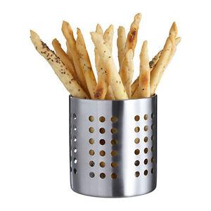 Ikea Stainless Steel Cutlery Caddy 5 Utensil Holder Kitchen