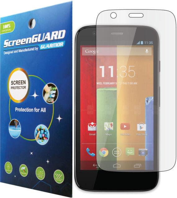 Clear LCD Screen Protector Cover Guard Saver Skin Motorola Moto G XT1028 XT1032