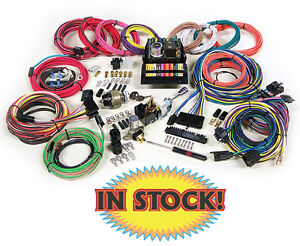 american autowire highway 15 complete universal wiring harness kit image is loading american autowire highway 15 complete universal wiring harness