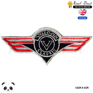 Vulcan-Classic-Kawasaki-Embroidered-Iron-On-Sew-On-Patch-Badge-For-Clothes-etc