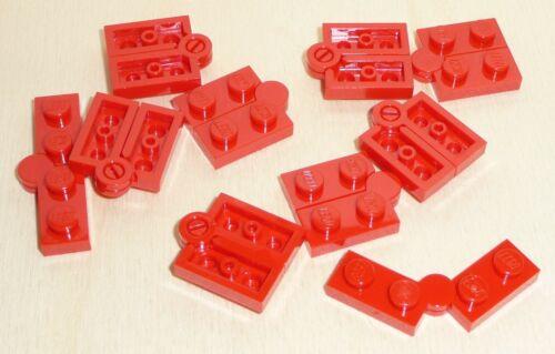 red Nr.5879 Lego 2429c01 City 10 Klapp Scharniere Platten 1x4 2x2 rot
