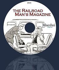 The Railroad Man's Magazine – Vintage Magazines 26 Volumes on 1 DVD Pulp, Comic