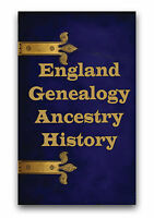 640 Rare English Genealogy Ancestry Books on 3 DVDs Family History Registers B1