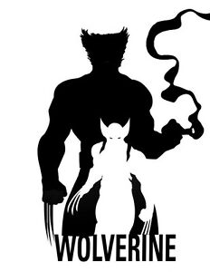 Decal Vinyl Truck Car Sticker Marvel X Men Wolverine